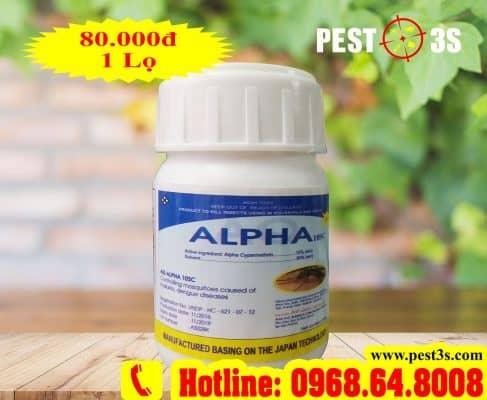 Thuốc diệt muỗi Alpha 10SC số 1 của Nhật Bản