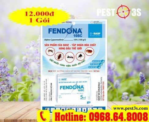 Fendona 10SC - Thuốc diệt côn trùng, muỗi, gián, kiến, ruồi, bọ chét.. CHLB Đức