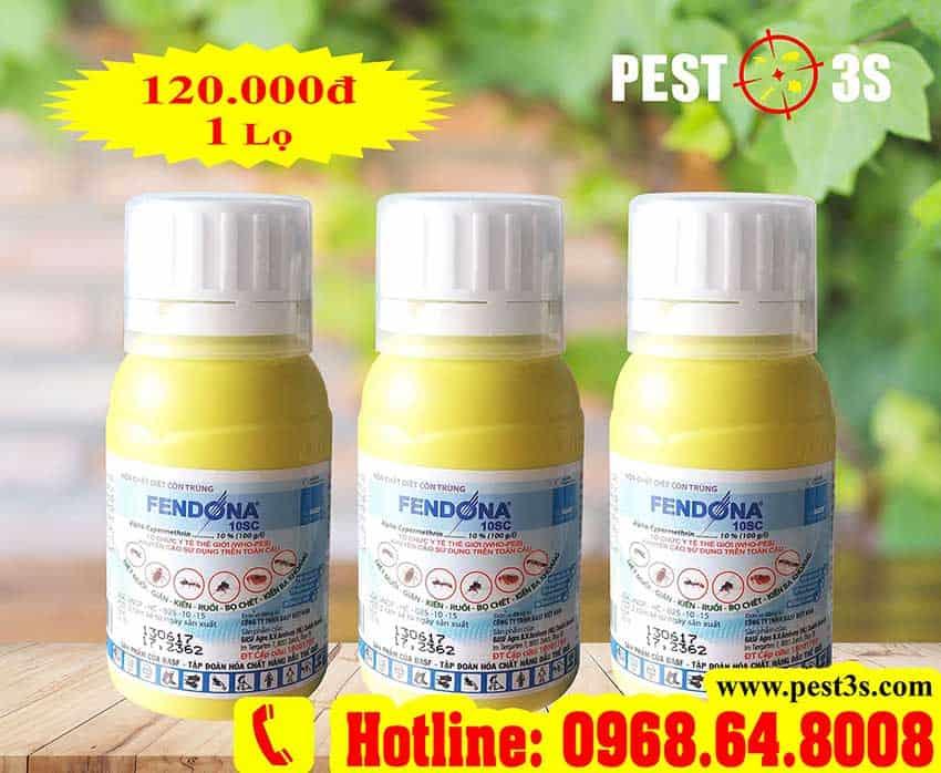 Thuốc diệt côn trùng Fendona 10SC (50ml) - Thụy Sỹ