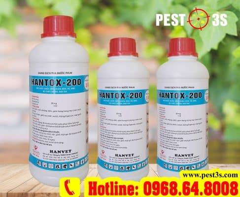 Hantox 200 - Thuốc diệt ruồi nhặng, bọ chét hiệu quả diệt tận gốc 100%