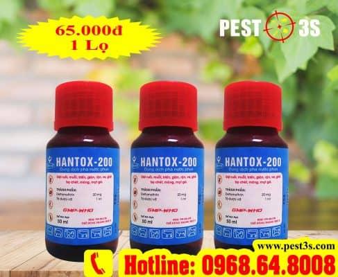Hantox 200 - Thuốc chuyên diệt ruồi nhặng hiệu quả 99.9%
