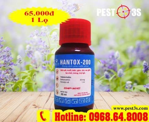 Thuốc diệt bọ chét, diệt ruồi chuyên dụng Hantox-200