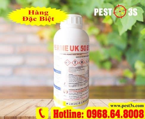 Perme UK 50EC (1000ml) - (Hàng nhập ANH QUỐC) - Thuốc diệt côn trùng, muỗi, gián, ruồi, kiến, bọ chét...