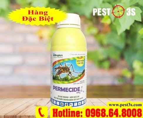 Permecide 50EC (1000ml) - (Hàng ẤN ĐỘ) - Thuốc diệt côn trùng, muỗi, gián, ruồi, kiến, bọ chét...