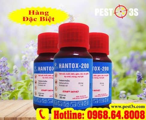 Thuốc diệt bọ chét, bọ nhảy, ve rận chó mèo Hantox-200