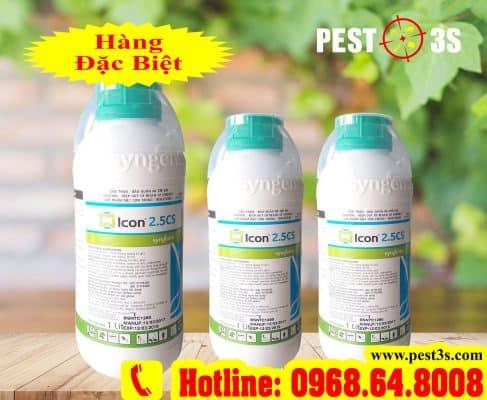 Thuốc diệt côn trùng Icon 2.5CS - Syngenta (Vương Quốc Bỉ)