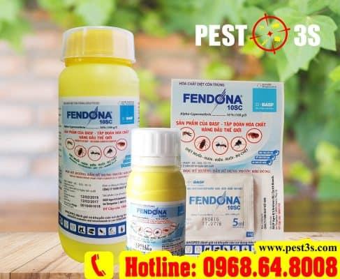 Fendona 10SC - Thuốc diệt muỗi, diệt côn trùng, ruồi muỗi, bọc chét, ve rận...