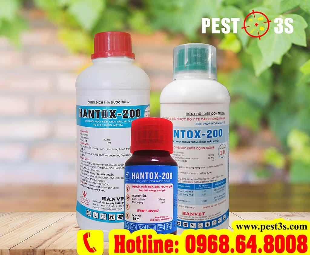 Thuốc diệt bọ chét Hantox 200