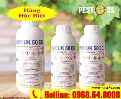 Hóa chất diệt côn trùng, diệt muỗi Perme UK 50EC (1000ml) - (Hàng nhập ANH QUỐC)