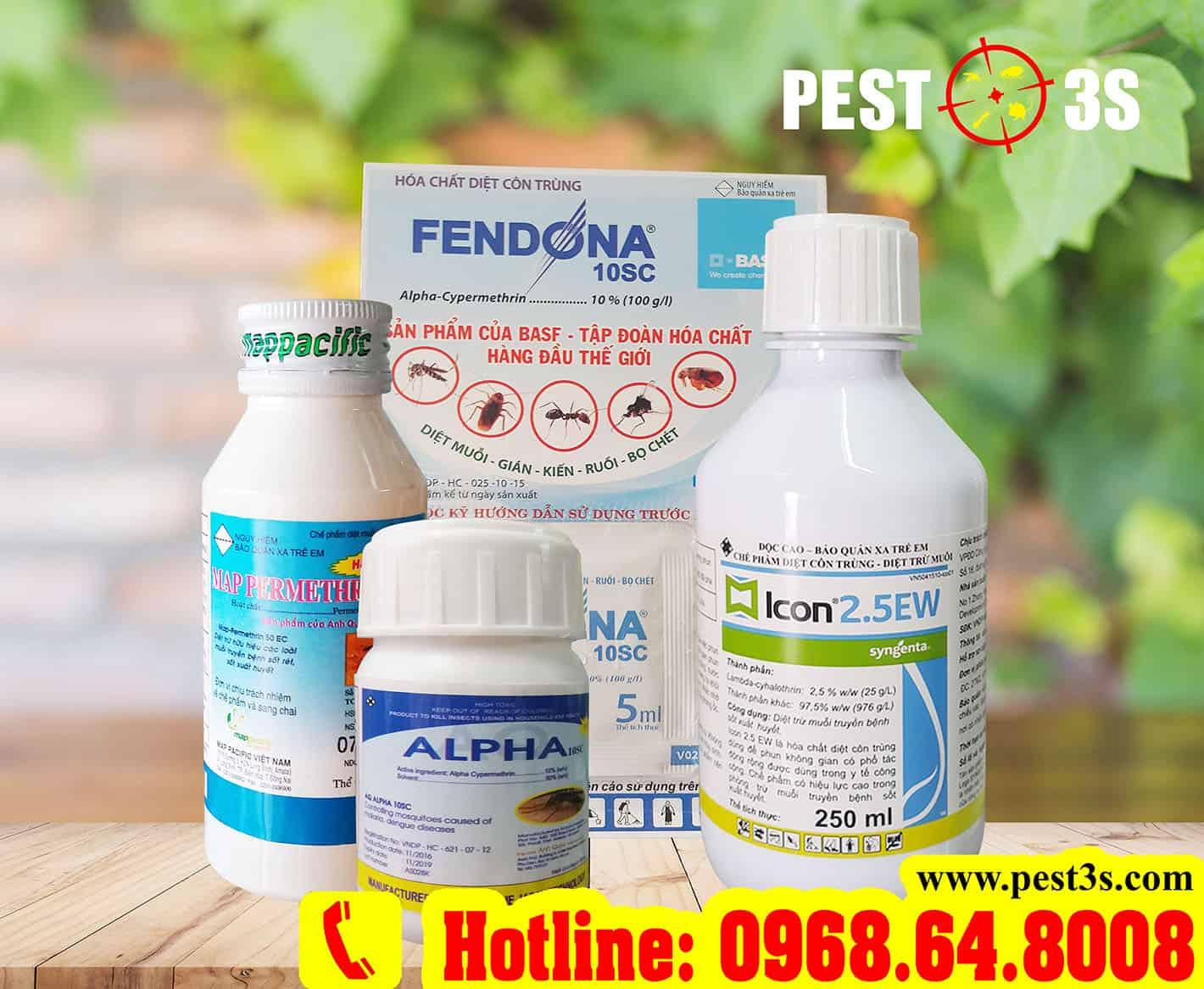 Thuốc diệt côn trùng, bọ chét, ve rận chó mèo