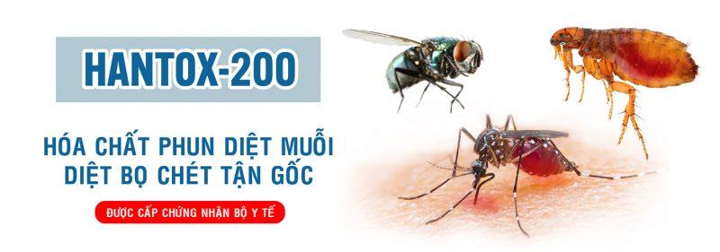 Hantox 200 - Thuốc diệt bọ chét tận gốc, an toàn, hiệu quả cao