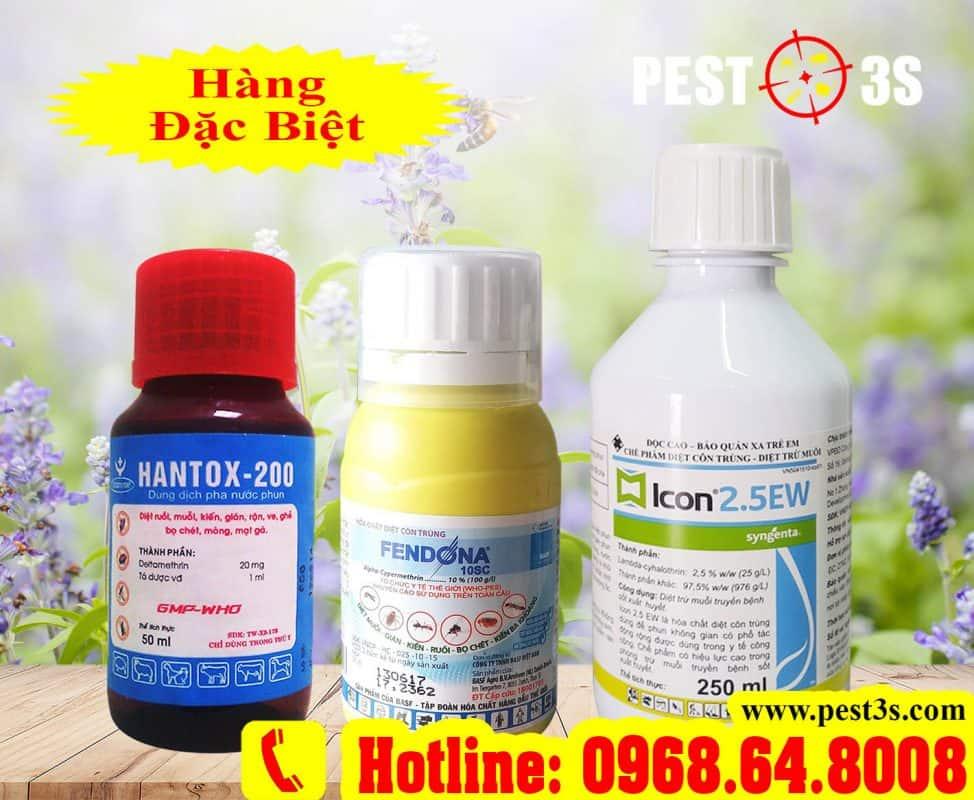 Thuốc diệt bọ chét tận gốc không độc hại