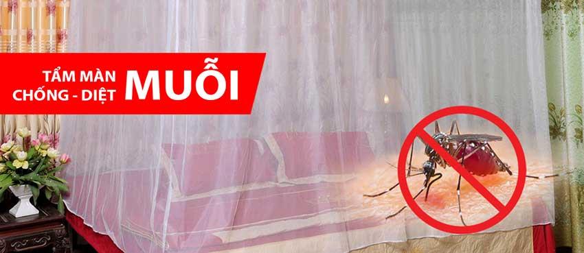 Tầm mùng màn chống diệt muỗi hiệu quả