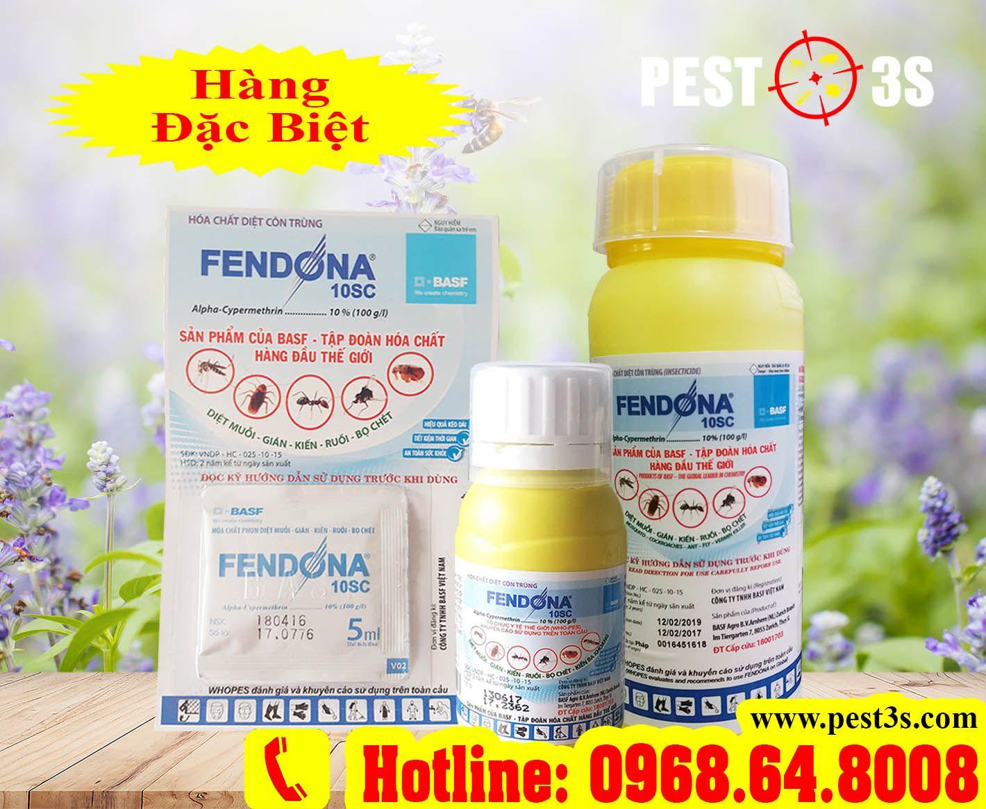 Fendona® 10SC – Hoá chất diệt côn trùng số 1 thế giới