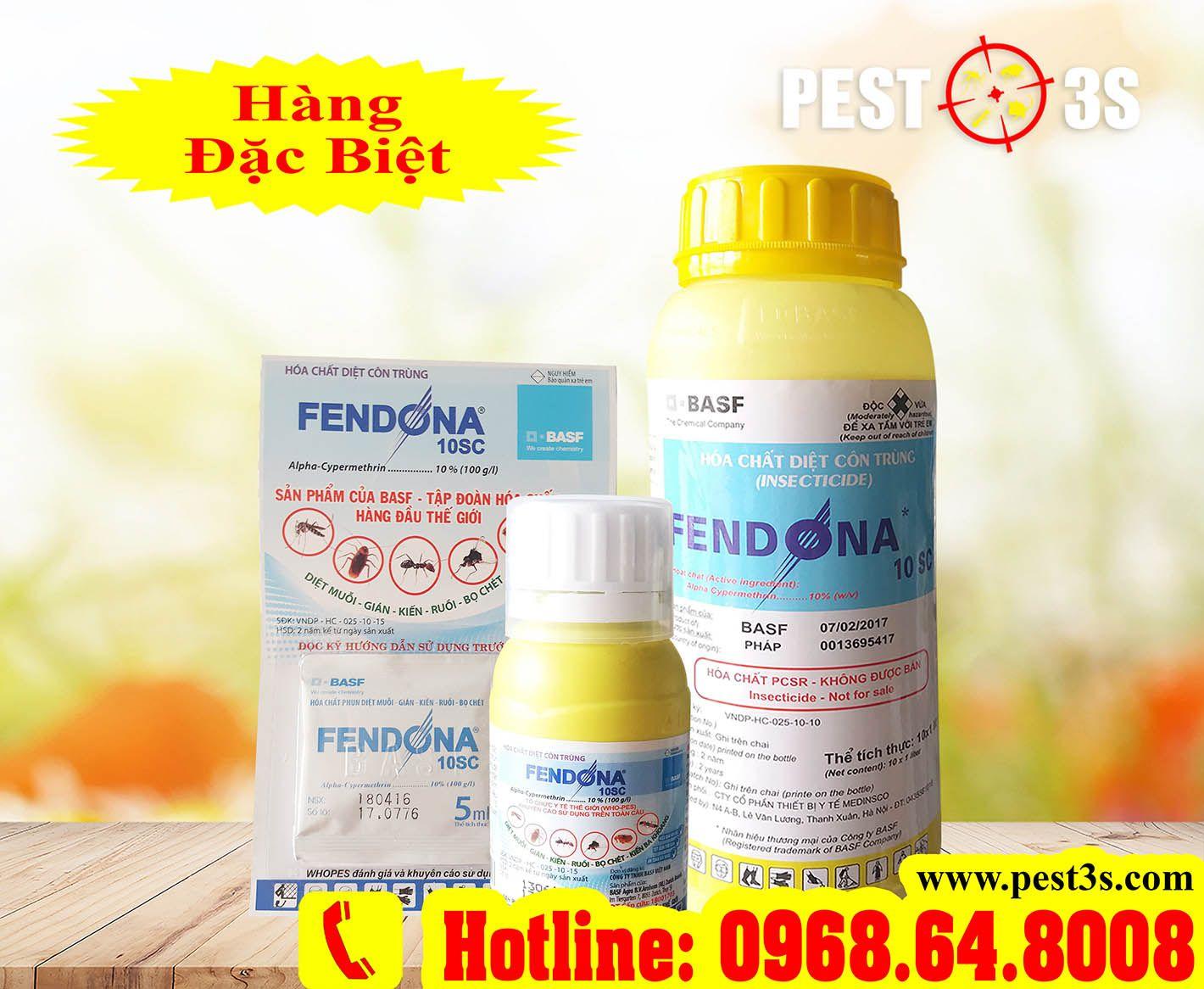 Hoá chất Diệt muỗi và côn trùng Fendona 10SC