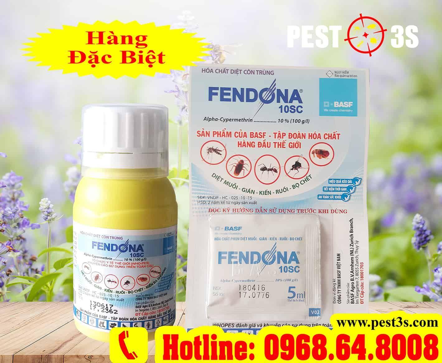 Công dụng và ưu điểm của thuốc diệt côn trùng Fendona 10SC