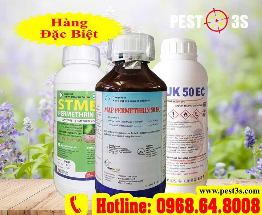 Hoạt chất Permethrin có trong thuốc diệt côn trùng là gì?